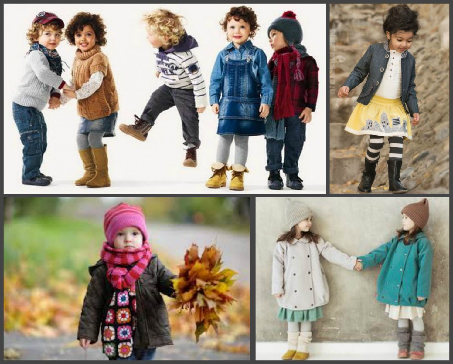 Детская одежда на осень картинки