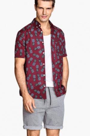 Рубашка мужская H&M - H&M HM0104-m-cl-M