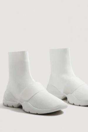 Женские кроссовки-носок от Mango  - Mango  MNG0276-sh-38
