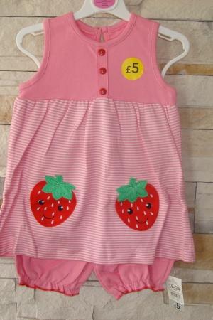 Майка и шорты для девочки - George AL0053-g-18-24