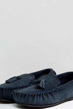 Стильные мужские тапочки-мокасины от Dunlop (Англия) - Dunlop ASS0038-sh-42