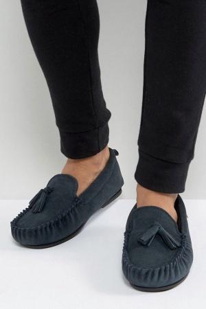 Стильные мужские тапочки-мокасины от Dunlop (Англия) - Dunlop ASS0038-sh-42 #2