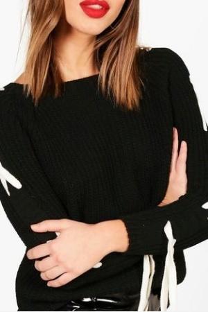Оригинальный женский свитер от BooHoo (Англия) - Boohoo BH0005-cl-M-L