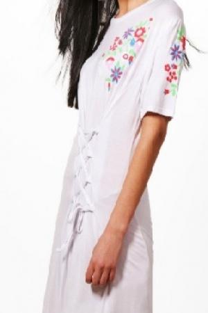 Платье-футболка от BooHoo (Англия) - Boohoo BH0009-cl-36