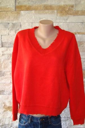 Красный женский свитер от Бершка (Испания) - Бершка BR0199-cl-L