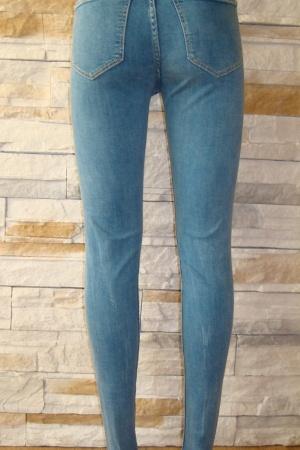 Голубые женские джинсы от Бершка (Испания) - Бершка BR0208-cl-36 #2