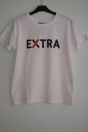 Женская футболка с принтом EXTRA от Бершка - Бершка BR0232-cl-S