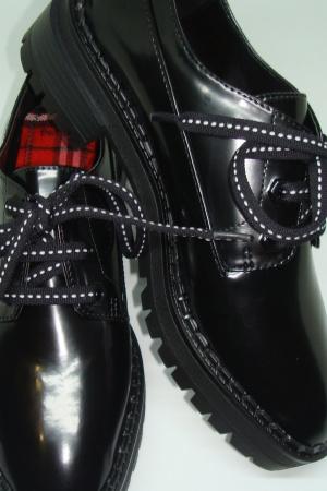 Женские туфли броги от Бершка (Испания) - Бершка BR0258-sh-36 #2