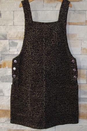 Модный женский сарафан от Бершка - Бершка BR0281-cl-S