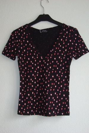Женская футболка  Бершка (Испания) - Бершка BR0307-cl-ХS