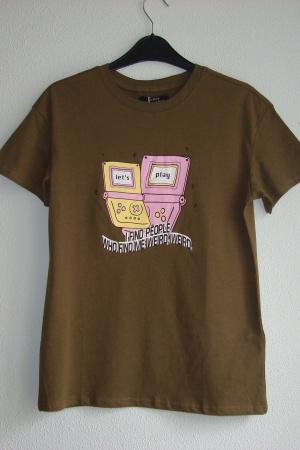 Женская футболка от Бершка - Бершка BR0310-cl-ХS