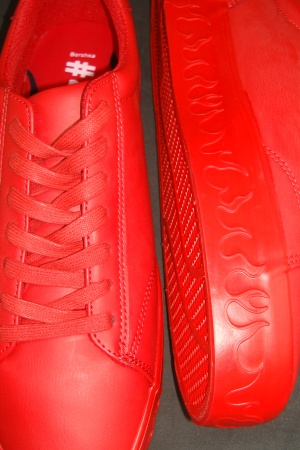 Красные мужские мокасины от Бершка - Бершка BR0324-sh-44 #2