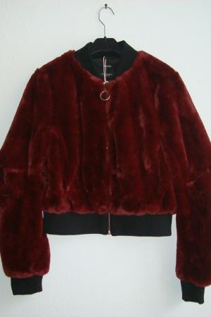 Женская куртка бомбер Бершка Испания - Бершка BR0325-cl-M