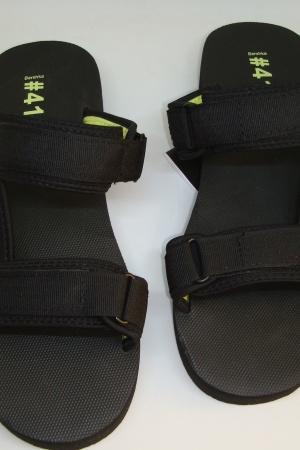 Супер стильные мужские босоножки-шлепанцы от Бершка - Бершка BR0330-sh-41