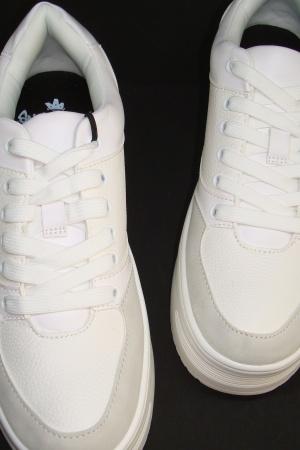 Супер модные женские кроссовки на платформе от Бершкa - Бершка BR0349-sh-38