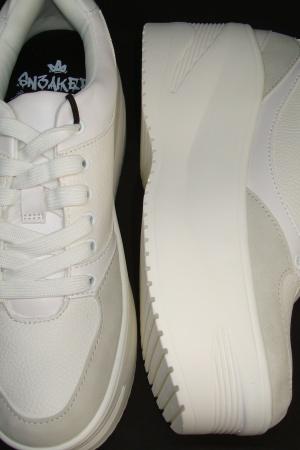 Супер модные женские кроссовки на платформе от Бершкa - Бершка BR0349-sh-38 #2