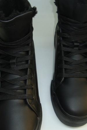 Стильные мужские зимние   ботинки от Бершка (Испания) - Бершка BR0370-sh-41