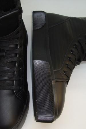 Стильные мужские зимние   ботинки от Бершка (Испания) - Бершка BR0370-sh-41 #2
