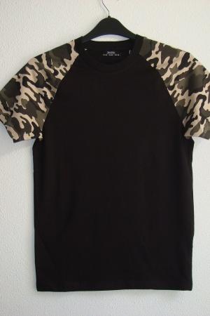 Мужские футболки от Бершка Испания - Бершка BR0374-cl-XS