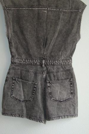 Трендовый женский джинсовый комбинезон ромпер от Бершка - Бершка BR0385-cl-S #2