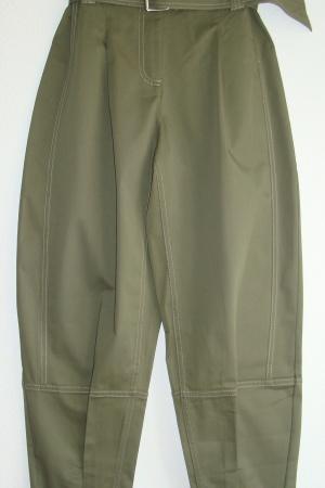 Супер стильные женские брюки с ремнем от Бершка (Испания) - Бершка BR0389 -cl-36