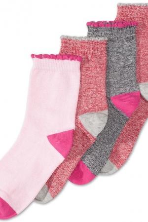 Носки для девочки 4 пары в упаковке Palomino - Palomino CA00571-g-cl-27-30