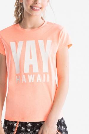 Модная футболка для девочки от бренда C&A (Германия) - C&A C&A0153-cl-146/152