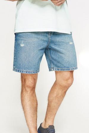 Стильные мужские джинсовые шорты от Springfield (Испания) - Springfield FT0037-cl-38