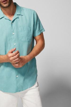 Рубашка льняная мужская от Springfield (Испания) - Springfield FT0042-cl-S