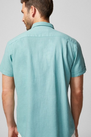 Рубашка льняная мужская от Springfield (Испания) - Springfield FT0042-cl-S #2