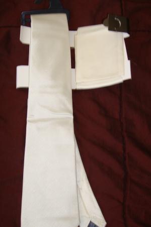 Галстук шелковый с платком M&S - Marks&Spencer GL00389-m-cl