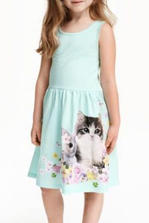 Платье для девочки H&M - H&M HM0150-g-cl-122-128