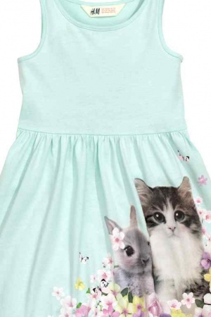 Платье для девочки H&M - H&M HM0150-g-cl-122-128 #2