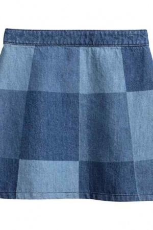 Джинсовая юбка женская H&M - H&M HM0217-w-cl-36
