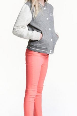 Брюки стрейчевые для девочек от H&M - H&M HM0278-g-cl-10-11