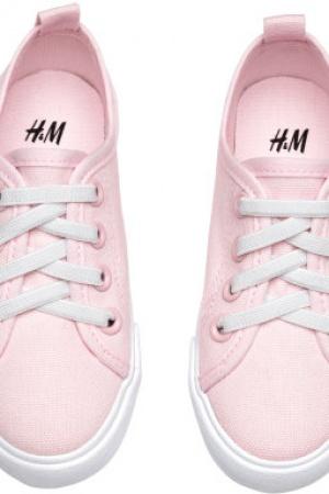 Мокасины для девочки от шведского бренда H&M - H&M HM0323-sh-34