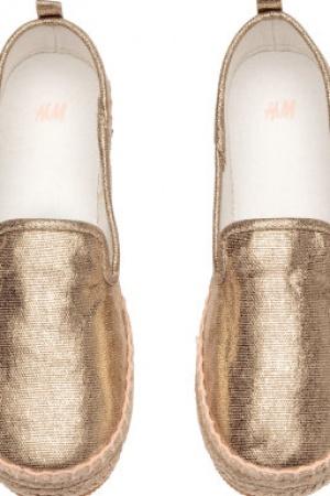 Эспадрильи для девочек от бренда H&M (Швеция) - H&M HM0324-sh-34