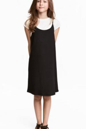 Платья для девочек 2 в 1 от бренда H&M (Швеция) - H&M HM0325-cl-146/152