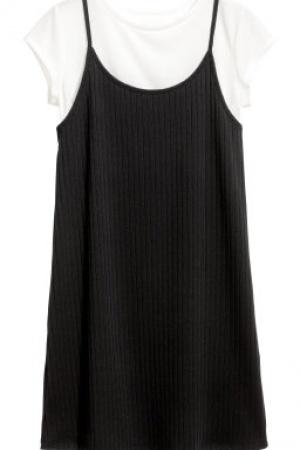 Платья для девочек 2 в 1 от бренда H&M (Швеция) - H&M HM0325-cl-146/152 #2
