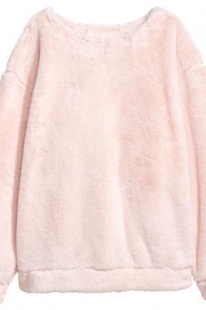 Плюшевый женский свитер от H&M (Швеция) - H&M HM0340-cl-L