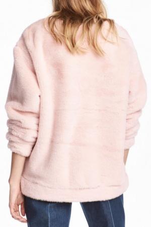Плюшевый женский свитер от H&M (Швеция) - H&M HM0340-cl-L #2