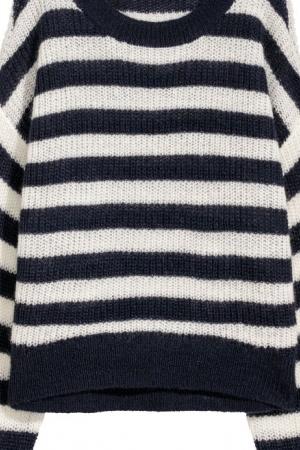 Полосатый женский свитер от H&M (Швеция) - H&M HM0352-cl-M