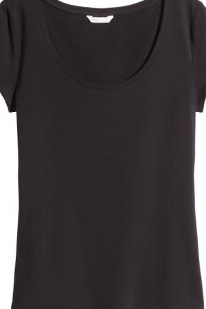 Базовая женская футболка от H&M (Швеция) - H&M HM0359-cl-XS #2