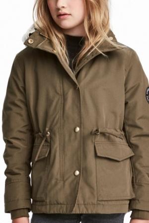 Куртка-парка для девочки-подростка от H&M - H&M HM0361-cl-164