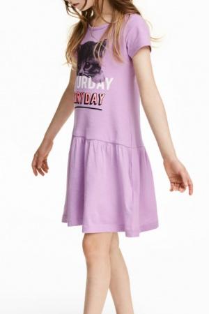 Модное летнее платье для девочки от H&M - H&M HM0364-cl-122-128