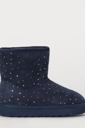 Супер стильные зимние сапожки   для девочек от H&M - H&M HM0373-cl-34-35 #2