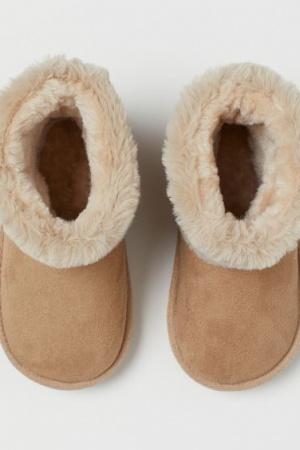 Зимние сапожки   для девочек от H&M - H&M HM0374-cl-34-35