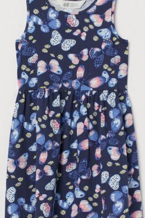 Стильный сарафан для девочек от H&M - H&M HM0376-cl-122/128