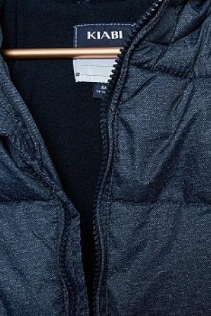 Синяя зимняя куртка для мальчика KIABI (Франция)  - Kiabi KI0295-cl-9-10 #2