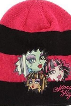 Шапка для девочки Monster High от LamaLoli - Lamaloli LL0024-g-aks-52